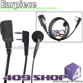 Picture of 2 Wire Earphone Mic PTT Switch with (K plug) for UV-5RU UV-B5 UV-B6