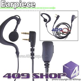 Picture of 2-wire PTT D-ring Ear Loop Earpiece (K plug) for LT-3188 LT-3260 LT-3268