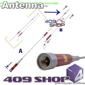 Picture of HARVEST TS-HAR7900 145/435MHz PL259 Dual Band Antenna