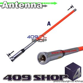 Picture of HARVEST TS-Z792 PL259 Dual Band Orange Antenna