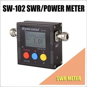 Picture of SURECOM SW-102-VU V.S.W.R. POWER METER and frequency counter
