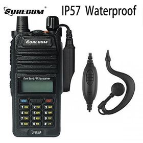 Picture of SURECOM UV5RWP IP57 waterproof DUALBAND RADIO