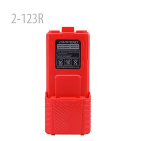 Picture of 2-123 RED LI-ION (NEW) 7.4V 3800MAH Battery FOR UV-5R UV-8R WUV-5R