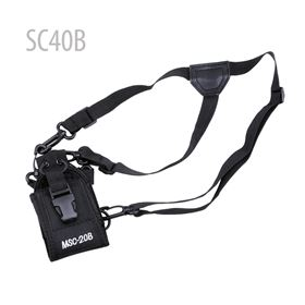 Picture of MSC-20B Softcase with belt SC40B for BAOFENG UV5R , WACCOM WUV5R