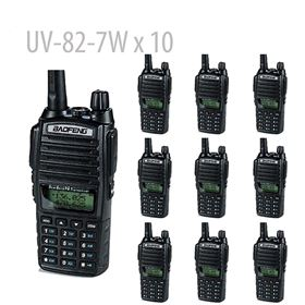 10x BaoFeng UV-82-7W High Power Dual Band(Not include shipping cost)