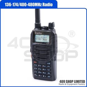 Picture of  iradio UV8R UV-8R UHF 136-174/400-480MHZ Two-way Radio free earpiece