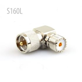 Picture of Adaptor PL259 TO SO239 90° connector
