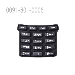 Picture of Rubber Keypad for FD-880