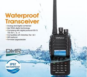 HARICO P73 400-480MHz DMR-PLUS IP 67 waterproof DMR radio as MD-390