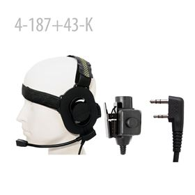 409shop Tactical Headset + PTT