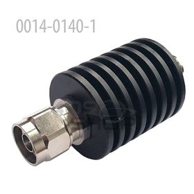30W N Male To Female Connector RF Attenuator, DC To 3GHz,50 Ohm