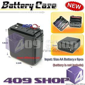 Battery Case for CBT252 ( use 6 x AA battery)