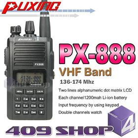 Picture of Puxing PX-888 VHF 136-174mhz + Earpiece