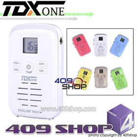 Picture of TDXONE TDQ3 440-480MHZ Mini walkie talkie