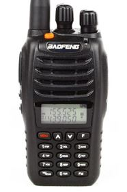 BAOFENG UV-B5 Dual Band Radio(New version MENU 1-27)