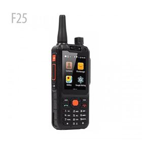 F25 4G LTE Quad Android Walkie Talkie Network intercom Smartphone Zello PTT Radio